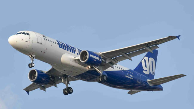 GoAir is the most reliable airline for 11th time in a row