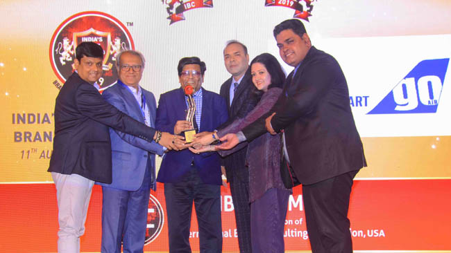 USA's International Brand Consulting recognizes GoAir as India's Most Trusted Brand