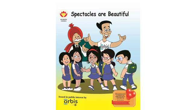 on-world-sight-day-orbis-launches-comic-books-to-educate-children-on-the-importance-of-good-vision-and-spectacle-wear