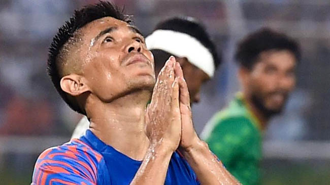 india-s-performance-was-no-match-to-atmosphere-at-salt-lake-chhetri