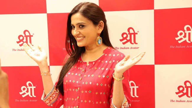 Bollywood actress Smita Bansal Launches Shree – The Indian Avtar ethnic store in Jaipur