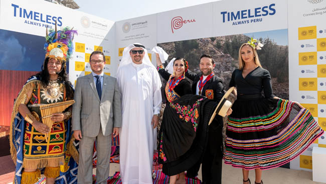 Timeless Peru to come alive at Expo 2020 Dubai
