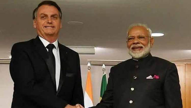 Brazilian Prez Bolsonaro to be chief guest at India's Republic Day celebrations next year