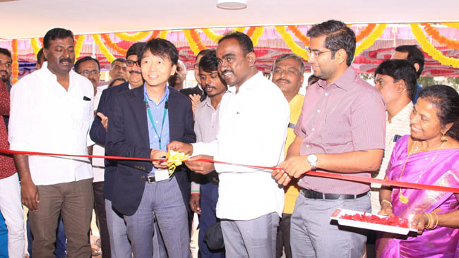 Toyota Kirloskar Motor cheers up school children with a newly constructed school building on Children's Day