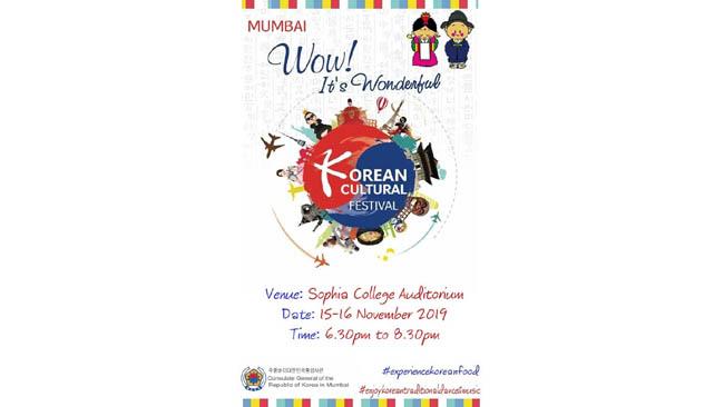 Korean Cultural Festival 2019 Held in Mumbai During 15th and 16th November 2019