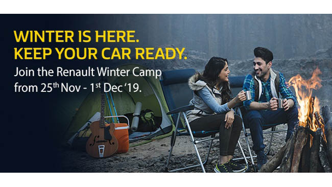 RENAULT ANNOUNCES NATIONWIDE WINTER SERVICE CAMP