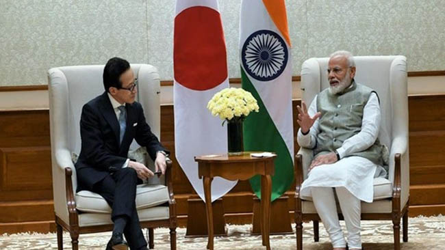 Prime Minister's meeting with Shigeru Kitamura, Japan Secretary General of NSS