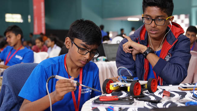 Toyota Kirloskar Motor Conducts a first-of-its-kind Hackathon for school children on Road Safety