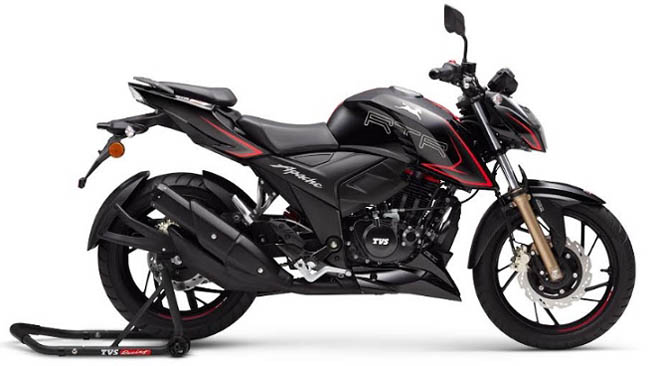 TVS Motor Company Launches Technologically Advanced, Feature Packed 2020 Range of TVS Apache RTR 200 4V and TVS Apache RTR 160 4V BS-VI Motorcycles