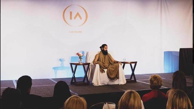 Grandmaster Akshar graced the Global Leadership Conference as an elite speaker