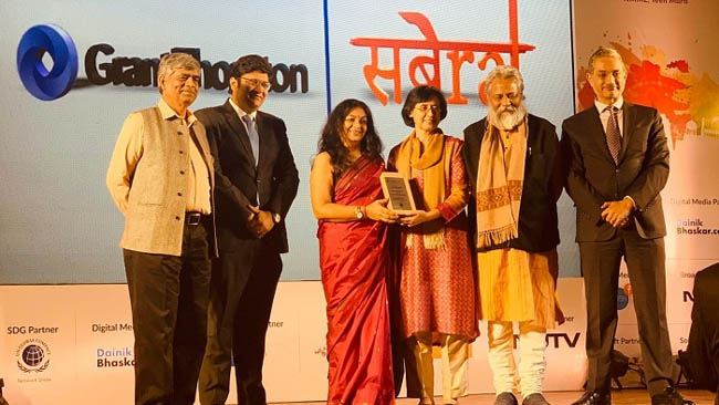 ruby-ahluwalia-conferred-with-change-makers-award