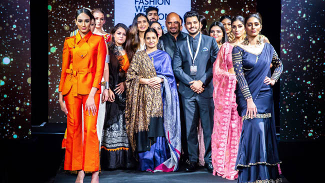JD Institute of Fashion Technology partnered in the 6th edition of India Fashion Week, London
