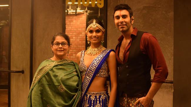 Choreographers Sandip Soparrkar and Vijayshree Chaudhary help Suman Rao to prepare for Miss World 2019