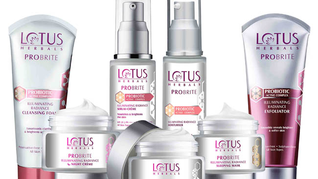 Lotus Herbals Introduces India's first Probiotic skin care brand PROBRITE