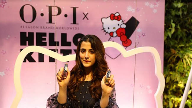 OPI Launches the OPI X Hello Kitty Collection with Celebrity Nupur Sanon