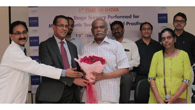 first-in-india-an-elderly-person-undergoes-complex-surgery-for-acute-type-a-type-b-aortic-dissection-at-sims-hospital-chennai
