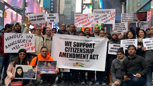 Indian-Americans hold events in New York in support of CAA