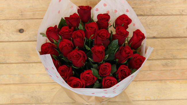 La Fleur celebrates with the spirit of Valentine's day with high-quality premium roses