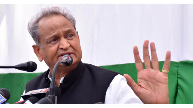 People of Delhi taught a lesson to BJP which it will remember for long time: Gehlot