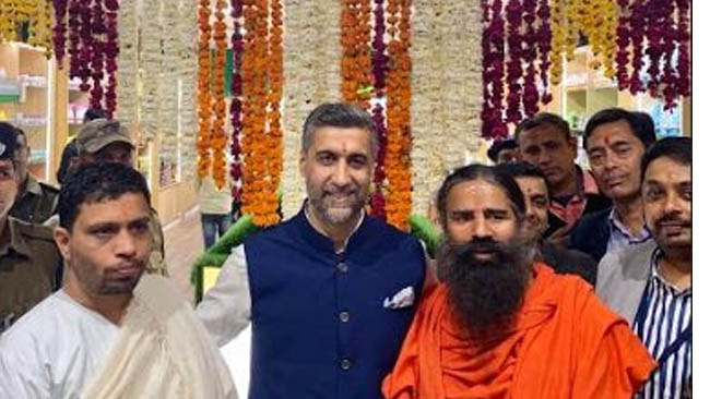 Patanjali Launched their Largest Store at International Terminal, New Delhi
