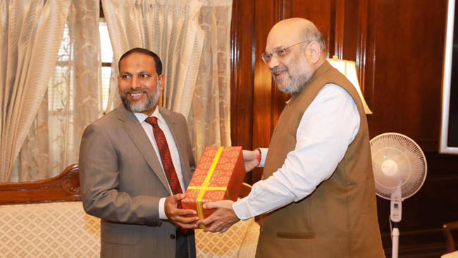 home-minister-of-maldives-calls-on-shri-amit-shah-in-new-delhi-today