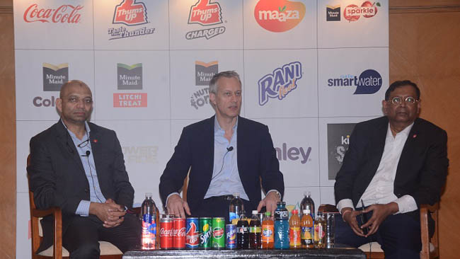 """James Quincey Encourages Coca-Cola India's Journey as a """"Total Beverage Company With Strong Local Roots"""""""