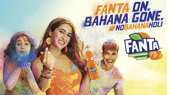 Fanta Rings in the Festival of Colors With Its Playful Holi Campaign: 'Khelo Fanta Wali, #NoBahanaHoli'