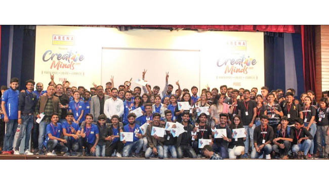 arena-animation-creative-minds-2019-2020-successfully-concluded-its-multi-city-tour-witnessing-talent-from-7376-students-pan-india-over-650-students-pan-india-awarded-for-their-creativity