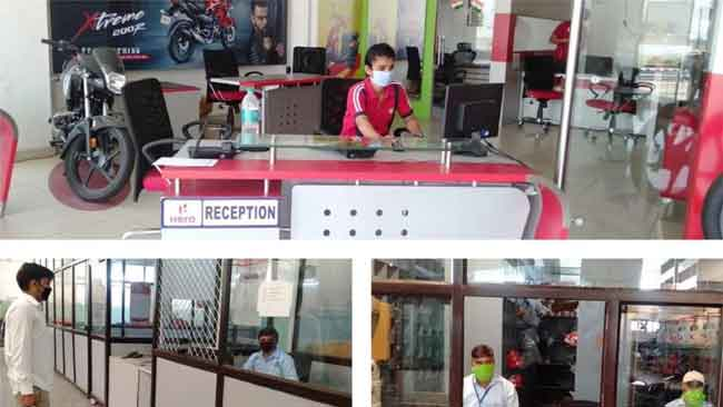 HERO MOTOCORP SWIFTLY RESUMES RETAIL BUSINESS WITH STRICT SAFETY GUIDELINES