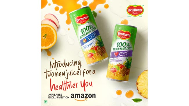 Del Monte Introduces The First Ever Clinically Proven Juice To Reduce Cholesterol And Del Monte A-C-E To Boost Immunity