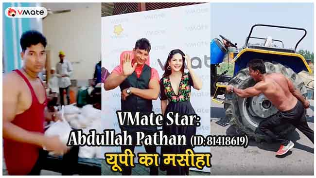 Short video app influencer Abdullah Pathan is a messiah for thousands in UP