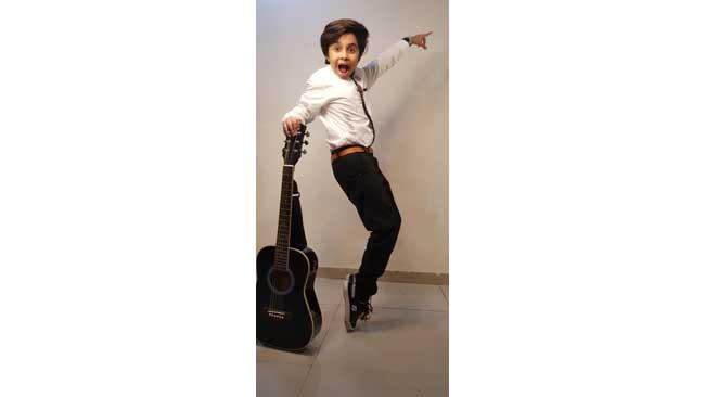 Happu Ki Ultan Paltan fame Aryan Prajapati tunes in to online guitar classes this lockdown