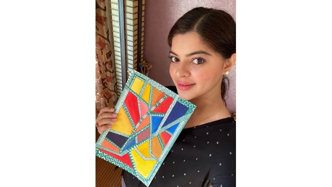 Sneha Wagh's new found love - Mandala Art