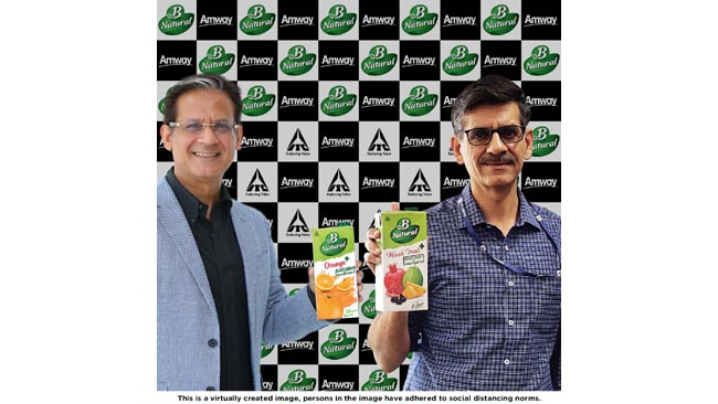 itc-s-b-natural-and-amway-india-collaborate-to-launch-first-of-its-kind-immunity-offering-in-fruit-beverages-with-clinically-proven-ingredient
