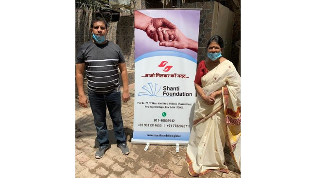 Shanti Foundation Distributes Thousands of Ration Bags to the Needy Amid COVID-19 Crisis