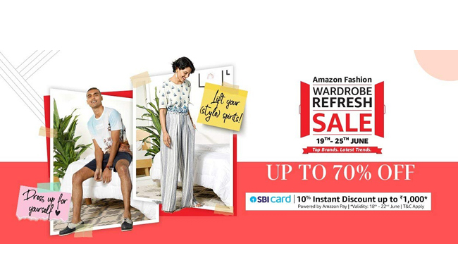 Wear Your Vibe of Happy Style with Amazon Fashion's Wardrobe Refresh Sale 2020
