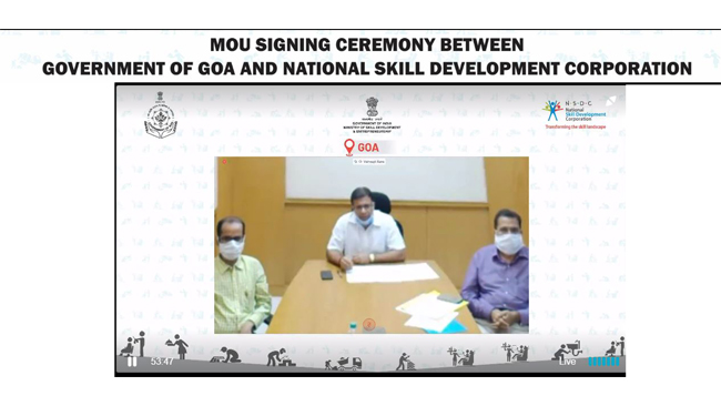 Government of Goa to set up  International SkillHub in the state