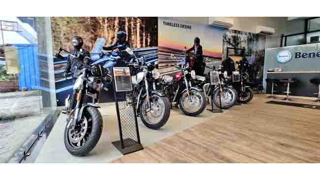 Now Benelli Bike Exclusive Dealership in Udaipur