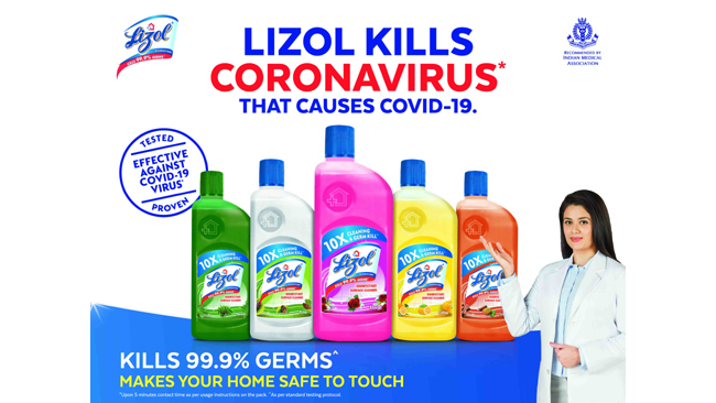 LIZOL UNVEILS ITS DISINFECTION-FOCUSED ADVERTISING CAMPAIGN 'SAFE TO TOUCH'