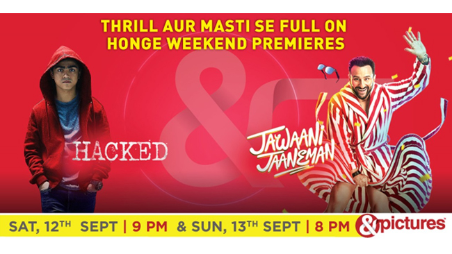 &pictures will turn your weekend into full on fun with the power packed premiere of Hacked and Jawaani Jaaneman