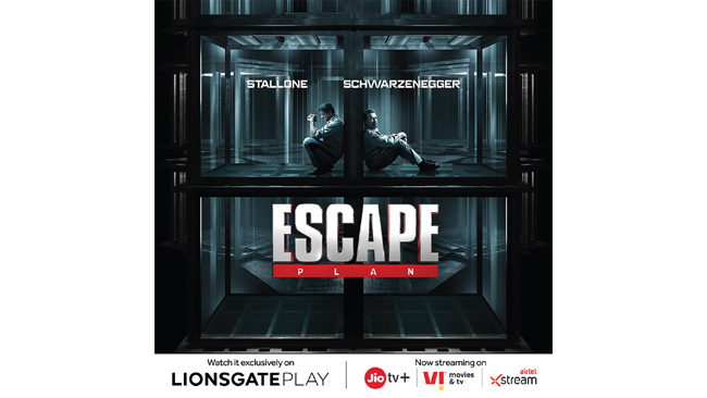 Don't miss out on Sylvester Stallone and Arnold Schwarzenegger's action-thriller 'Escape Plan' on Lionsgate Play this weekend