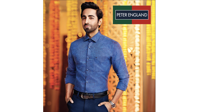 Peter England launches festive campaign featuring Ayushmann Khurrana
