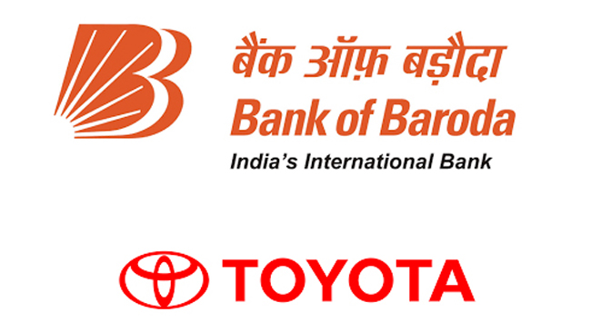 bank-of-baroda-with-toyota-kirloskar-motor-introduces-finance-options-for-customers-dealers
