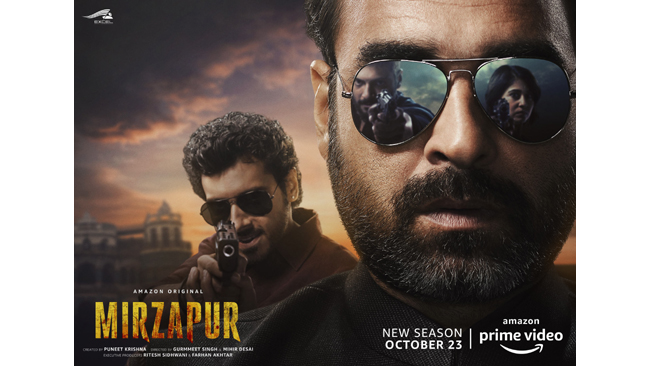 THIS FESTIVE SEASON, WATCH ALL-NEW EPISODES OF MIRZAPUR 2, BORAT: A SUBSEQUENT MOVIEFILM AND OTHER EXCITING TITLES ON AMAZON PRIME VIDEO