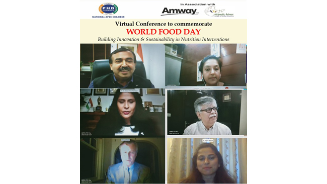 Amway India celebrates World Food Day with a national conference in partnership with PHDCCI and Mamta HIMC