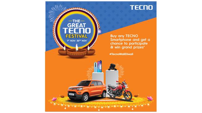 TECNO celebrates 6 million customers in India, launches the 'Great TECNO Festival'