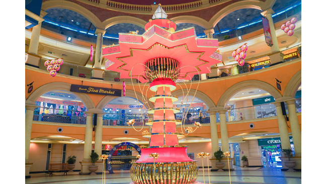 GROWEL'S 101 MALL CELEBRATES 'FESTIVAL OF DELIGHTS!'