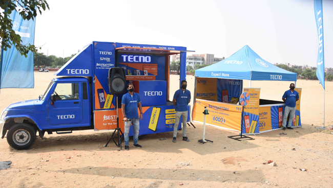 TECNO announces 'Moving Retail Shop' initiative to strengthen its Aspirational India connect