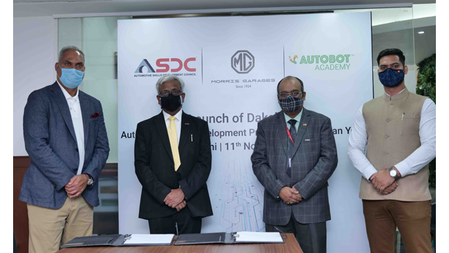 MG extends global tech expertise to students through the launch of 'Dakshata' in partnership with ASDC and Autobot India