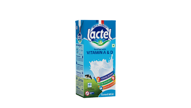 France's No.1 Milk Brand Lactel Now in India and Ready to Take the Dairy Market by Storm